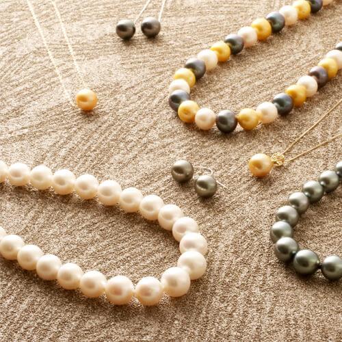 真珠製品の企画と卸